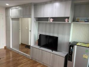 For RentCondoBang Sue, Wong Sawang : Regent Home Condo, Bang Son, Phase 27, Building B, 4th floor, pool view, North, not hot, 28 sq m. 1 bedroom, 1 living room, 1 kitchen.