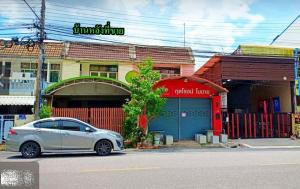 For SaleTownhouseHatyai Songkhla : Cheap 2-storey townhouse for sale, Sadao District, Songkhla Province, near Khlong Ngae Municipality, next to the main road, good location, the owner sells by himself