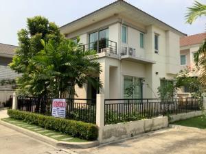 For SaleHouseLadkrabang, Suwannaphum Airport : Urgent sale ** Cheap sale ** Beautiful house behind the edge ** Life Bangkok Boulevard