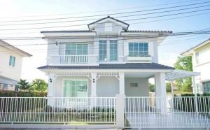 ขายบ้านรังสิต ธรรมศาสตร์ ปทุม : ขายด่วนๆบ้านเดี่ยว 2 ชั้น  พฤกษ์ลดา1-รังสิตคลอง4