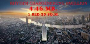For SaleCondoSathorn, Narathiwat : 🔥Sprcial Price !! 🔥📌1 Bed Size 35 Sq.m. 4.46 MB.