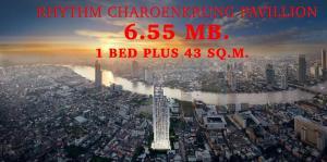 ขายคอนโดสาทร นราธิวาส : 🔥Sprcial Price !!🔥📌1 Bed Plus Size 43 Sq.m. 6.55 MB. ตำแหน่งสวย Call/Line : 0990950009