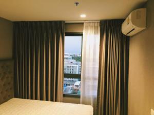 For RentCondoOnnut, Udomsuk : Urgent rent, high floor, beautiful room, very good view, Ideo Condo Sukhumvit 93