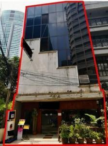 เช่าตึกแถว อาคารพาณิชย์นานา : ขายอาคารพาณิชย์ 5 ชั้น 2 คูหา สุขุมวิท 20 ใกล้ BTS อโศก และBTS พร้อมพงษ์