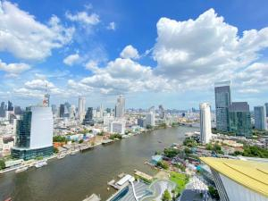 For SaleCondoWongwianyai, Charoennakor : express! Luxury condo for sale along the Chao Phraya River Magnolias icon siam ICONSIAM 1 bed 79.14 sq m, 30 high floor, price 26.75 MB! Best price