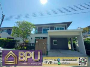 For SaleHouseBangna, Lasalle, Bearing : **4 bedrooms brand new detached house for SALE** Manthana 2 Bangna km.7 close to Mega Bangna
