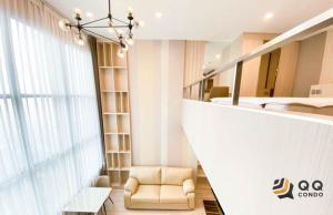 For RentCondoSathorn, Narathiwat : For rent  KnightsBridge Prime Sathorn Duplex, size 37 sq.m. Beautiful room, fully furnished.
