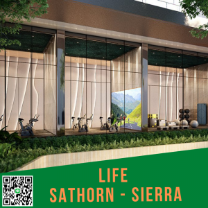 For SaleCondoThaphra, Wutthakat : 📌life Sathorn Sierra 📌 Condo in the heart of Sathorn-Tha Phra intersection, only 4 stations to Sathorn.