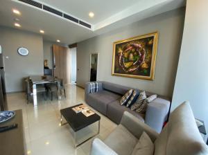 เช่าคอนโดสีลม ศาลาแดง บางรัก : 36,000 THB from 42k - Pet Friendly for RENT - BTS Chononsi & Silom (2 Bed 61 Sqm)