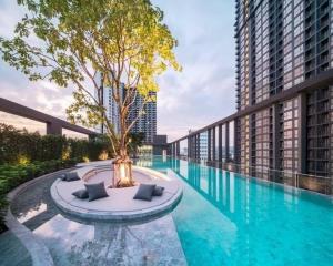 For SaleCondoBang Sue, Wong Sawang : Condo for sale, The Line Wongsawang, 3rd floor, garden view, size 29 sq m, near to MRT Purple Line, Wongsawang station 200 meters.