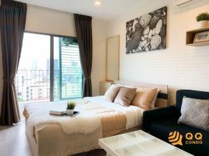 For RentCondoOnnut, Udomsuk : For Rent  Ideo Mobi Sukhumvit  Studio , size 22 sq.m., Beautiful room, fully furnished.