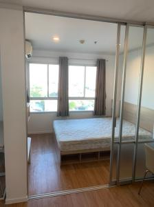 For RentCondoBangna, Lasalle, Bearing : Condo for rent  Lumpini Ville Lasalle - Barring    fully furnished (Confirm again when visit). Size 26 SQM.  1 bed1 bath.