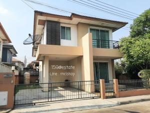 For RentHouseRangsit, Patumtani : House for rent, Habitia Ratchapruek -345, near Sarasas School, Ratchaphruek, fully furnished.