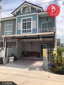For SaleTownhouseRangsit, Patumtani : Townhome, room for sale. Modi Villa Rangsit Village (next to the expressway) Pathum Thani