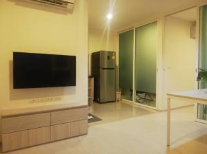 For RentCondoSamrong, Samut Prakan : For - Urgent rent, Aspire Erawan condo project, 1 Bedroom Plus type