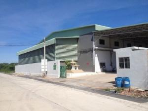 For RentWarehouseRama 2, Bang Khun Thian : RK038 Warehouse for rent, 750 sq m, Soi Tian Talay 20, Rama 2 area, container car access.