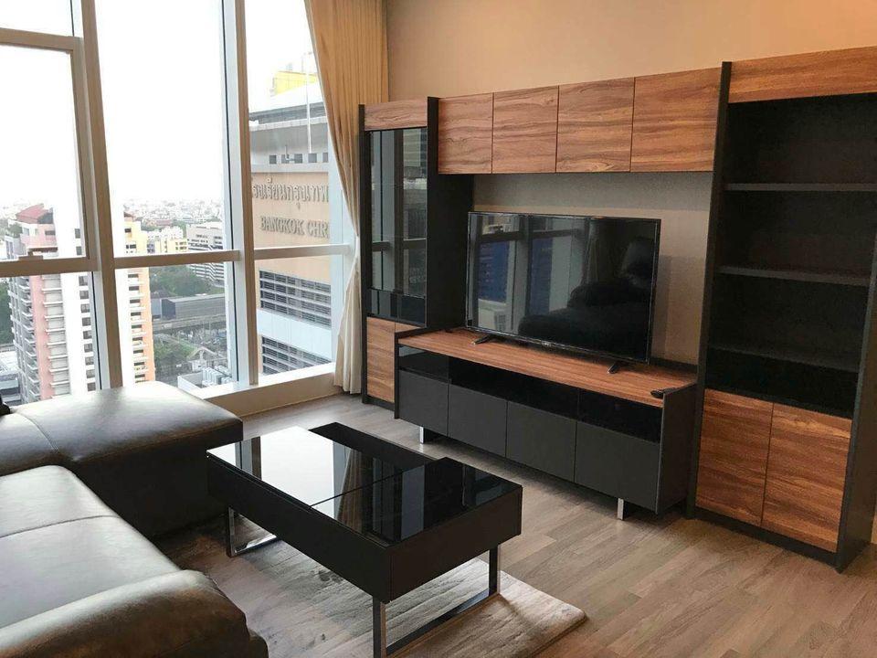 For RentCondoSathorn, Narathiwat : 2262-A😊 For RENT 2 bedroom for rent 🚄 near Surasak BTS station 🏢 The Room Sathorn - Pan Road The Room Sathorn-TanonPun 🔔 Area: 78.50 sq.m. 💲 Rent: 50,000 ฿ 📞O86-454O477, O99-5919653✅LineID: @sureresidence