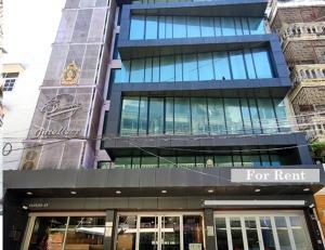 เช่าสำนักงานสะพานควาย จตุจักร : For Rent ให้เช่าอาคารสำนักงาน 6 ชั้น 3 คูหา พื้นที่รวม 780 ตารางเมตร แอร์ทั้งอาคาร ทำเลดีมาก ติด BTS สะพานควาย