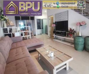 For RentHousePattanakan, Srinakarin : ** 3 Bedrooms Townhome for rent/sale ** Baan Klang Muang Urbanion, Krungthepkritha close to Brighton College Int. School