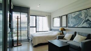 For SaleCondoRama9, New Petchburi, RCA : Condo for sale, condominium, second-hand condo at RHYTHM Asoke Studio 22 sq.m.