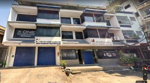 For SaleShowroomRama3 (Riverside),Satupadit : For sale land with an office building 3 units, 4 stories and freight elevator on Rama 3 Road, Ref. A01200301