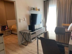 For SaleCondoRattanathibet, Sanambinna : Amber by Eastern Star condo for sale, high floor, fully furnished, 1 bedroom near MRT Tiwanon.