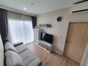 For SaleCondoRattanathibet, Sanambinna : Condo for sale Amber by Eastern Star, 1 bedroom, high floor, fully furnished, near MRT Tiwanon.