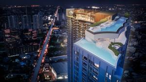 ขายคอนโดลาดพร้าว เซ็นทรัลลาดพร้าว : 🔥Raitem ถูกสุด Life Ladprao Valley 2 Bed Size 35 Sq.m 5.XX Mb. ชั้นสูง ไม่บล็อก🔥