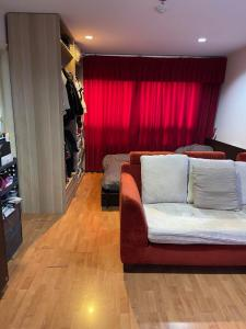 For SaleCondoOnnut, Udomsuk : Urgent sale‼ ️ Lumpini Ville Sukhumvit 77-1, high floor with beautiful furniture, ready to move in (CL15-14)