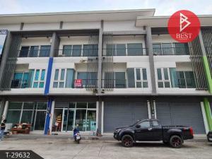 For SaleShophousePattaya, Bangsaen, Chonburi : Urgent sale, commercial building, Panya Complex, Sriracha
