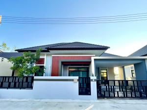 For SaleHouseHatyai Songkhla : Single house phase 1, book out! !! 1 house ready to transfer cheaper than Phase 2 to 6 hundred thousand baht!