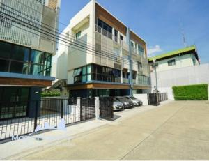 For SaleHome OfficeSukhumvit, Asoke, Thonglor : 4-storey home office for sale, District Ekamai-Ramindra, 9 parking spaces, Nuanchan, Bueng Kum, Bangkok.