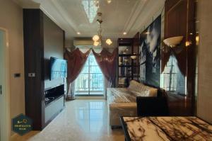 For RentCondoSukhumvit, Asoke, Thonglor : Rent and Sell  The Crest sukhumvit 34  /  46.58 Sq.m  Luxury condominium near BTS Thonglor 100 M.