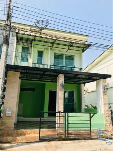 For RentTownhouseEakachai, Bang Bon : # Townhouse for rent, Baan Pruksa Village - Kanchana Bangbon, size 21 square meters # Rent 12,000 baht / month