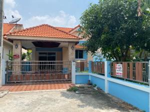 For SaleHouseRamkhamhaeng,Min Buri, Romklao : For Sale : Single House, Nantawan Village 10, Soi 7, Leapwaree 37