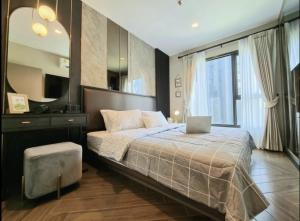 For RentCondoRama9, RCA, Petchaburi : Very beautiful room, Life Asoke Rama9, 1 bedroom, size 33 sq m. Fully furnished room, garden view, complete electrical appliances, ready to move in. 095-249-7892