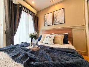 ขายคอนโดพระราม 9 เพชรบุรีตัดใหม่ : ขายห้องสวย Casa Condo Asoke - Dindaeng ห้องสตูดิโอ ชั้น 14 วิวโล่ง พร้อมเฟอร์ (S1992)