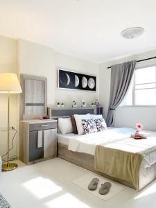 For SaleCondoOnnut, Udomsuk : ✅ Sale Lumpini Center Sukhumvit 77, near BTS, size 27.88 sqm, fully furnished ✅