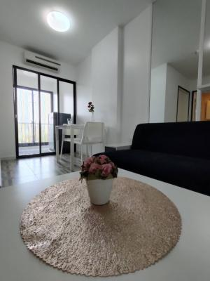 For RentCondoOnnut, Udomsuk : Condo for rent, iCondo Sukhumvit 103, newly renovated room, gig