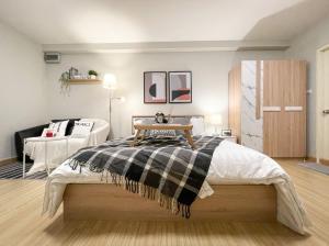 For SaleCondoRatchadapisek, Huaikwang, Suttisan : Condo Supalai city home Ratchada 10 beautiful room !! New! New furniture !!