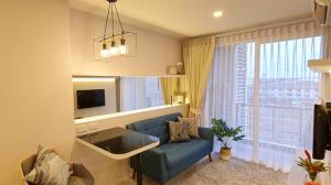 For SaleCondoLadkrabang, Suwannaphum Airport : Urgent sale Airlink residence condo premium quality, renovated rooms all
