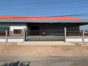 For SaleLandAyutthaya : Land for sale with warehouse, showroom, Wang Noi area, area 7-2-0 rai, Ayutthaya Province, large trainers can access.