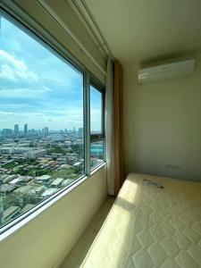 For RentCondoThaphra, Wutthakat : Condo for rent, ASPIRE Sathorn - Thapra, 2 bedrooms, 24th floor, next to BTS Talat Phlu, good price
