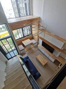 เช่าคอนโดพระราม 9 เพชรบุรีตัดใหม่ : คอนโดให้เช่า Ideo New Rama 9 ห้องสวย เฟอร์ครบ พร้อมอยู่