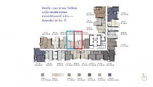 ขายคอนโดราชเทวี พญาไท : ★☆ Recommend Unit The Address Siam-Ratchatewi  ทิศเหนือ ราคาดีสุดในโครงการ Type B1  Double Screen ★☆