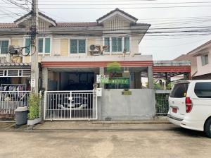 For SaleTownhouseRama 2, Bang Khun Thian : Pruksa Ville 32 Rama 2 Village, 2 storey townhouse for sale, area 26.40 sq m.