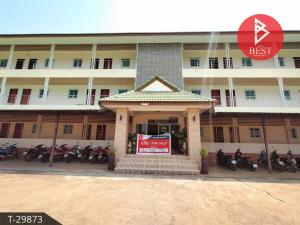 For SaleShophouseMaha Sarakham : 3-storey dormitory for sale, Kantharawichai, Maha Sarakham, beautiful room, clean