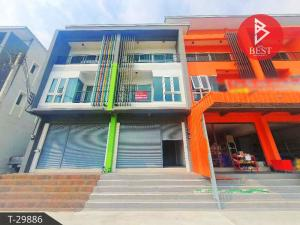 For SaleShophousePattaya, Bangsaen, Chonburi : 3 storey commercial building for sale, Panya Complex Sriracha (Panya Complex)