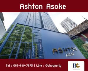 For SaleCondoSukhumvit, Asoke, Thonglor : *HOT PRICE* Ashton Asoke 2 BR Rare Unit! 65 sq.m. : 19.69 MB [Chopper 0819197975]