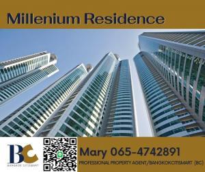 ขายคอนโดสุขุมวิท อโศก ทองหล่อ : PH Millennium Residence / 324 sqm / 4 Beds / Super High FL ✅ 75 MB ✅ Mary-0654742891